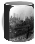 Steel Factory, C1907 Coffee Mug