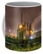 Steel Mill At Night Coffee Mug