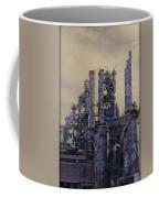 Steel Mill - Bethlehem Pa Coffee Mug by Bill Cannon