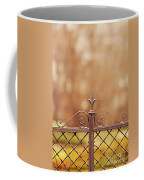 Steel Ornamented Fence Coffee Mug