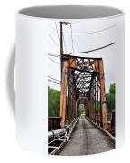 Steel Span Railroad Bridge Manayunk  Philadelphia Pa Coffee Mug