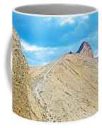 Steep Trail To Manly Beacon From Golden Canyon In Death Valley National Park-california  Coffee Mug