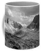 109629-bw-steeple And Temple Peaks, Wind Rivers Coffee Mug
