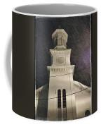 Steeple In A Snowstorm Coffee Mug