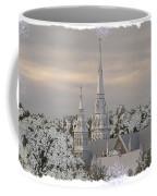 Steeples In The Snow Coffee Mug
