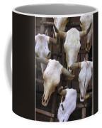 Steer Skulls  - New Mexico Coffee Mug