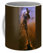 Stellar Spire In The Eagle Nebula Coffee Mug by Adam Romanowicz