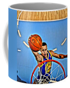 Steph Curry Coffee Mug by Florian Rodarte