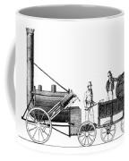 Stephensons Rocket 1829 Coffee Mug by Science Source