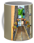 Steps Of Old Quebec Coffee Mug by Mel Steinhauer