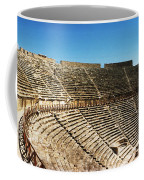Steps Of The Theatre In The Ruins Coffee Mug