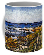 Steps To The Sea Abstract Coffee Mug by Barbara Snyder