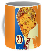 Steve Mcqueen Pop Art - 20 Coffee Mug