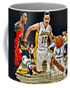 Steve Nash Coffee Mug by Florian Rodarte