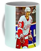 Steve Yzerman Coffee Mug