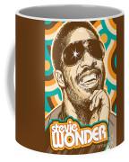 Stevie Wonder Pop Art Coffee Mug