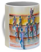 Stickman Performers Coffee Mug