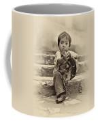 Sticky Boot Antique Sepia Coffee Mug