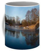 Still And Early - Icy Reflections With A Touch Of Snow Coffee Mug