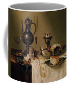 Still Life, 1642 Oil On Canvas Coffee Mug