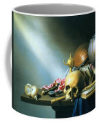 Still Life An Allegory Of The Vanities Of Human Life Coffee Mug