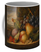 Still Life Grapes Pares Birds Nest Coffee Mug