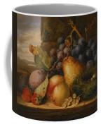 Still Life Grapes Pares Birds Nest Coffee Mug by Edward Ladell