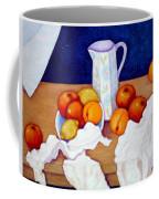 Still Life In Honor Of Cezanne   Coffee Mug