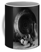 Still Life Of Armenian Plate And Other Coffee Mug