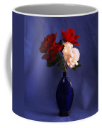 Still Life Red White And Blue Coffee Mug