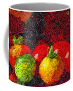 Still Life Tomatoes Fruits And Vegetables Coffee Mug