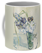Still Life Vase Of Carnations Coffee Mug