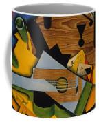 Still Life With A Guitar Coffee Mug