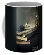Still Life With Books And Roses Coffee Mug