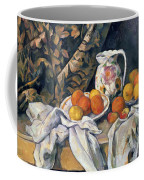 Still Life With Drapery Coffee Mug