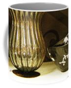 Still Life With Golden Vase Coffee Mug