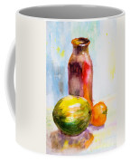 Still Life With Jug And Fruit Coffee Mug