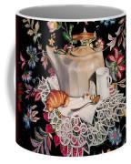 Still Life With Lace Coffee Mug