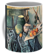 Still Life With Pitcher And Aubergines Oil On Canvas Coffee Mug