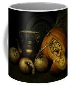 Still Life With Pumpkin And Onions Coffee Mug