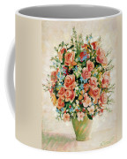 Still Life With Roses Coffee Mug