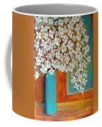 Still Life With White Flowers Coffee Mug