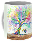 Still More Rainbow Tree Dreams Coffee Mug by Nick Gustafson