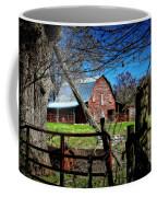 Still Useful Rustic Red Barn Art Oconee County Coffee Mug