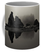 Stillness At Ruby Beach Coffee Mug