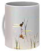 Stilt Chick Exploring Its New World Coffee Mug