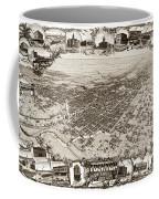Stockton San Joaquin County California  1895 Coffee Mug by California Views Mr Pat Hathaway Archives