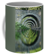 Stone Arch Bridge Over Troubled Waters - 1st Place Winner Faa Optical Illusions 2-26-2012 Coffee Mug