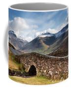 Stone Bridge In Mountain Landscape Coffee Mug