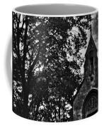 Stone Church In Black And White Coffee Mug